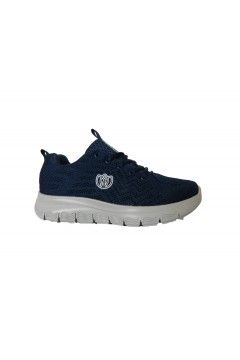 Laura Azana 24503 Scarpe Donna Sneakers Stringate Memory Foam Blu Francesine e Sneakers LA24503BLU