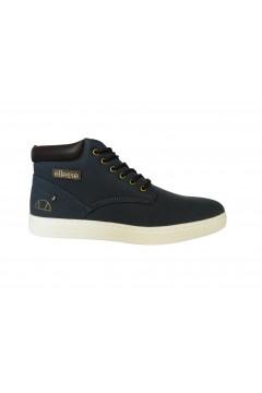 ellesse Jude M80428 Scarpe Uomo Sneakers Mid Stringate Blu Casual EL02M8042803