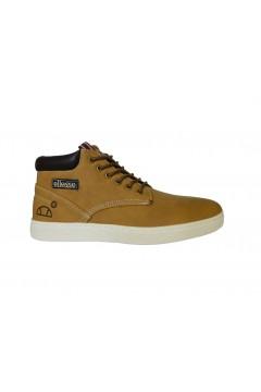 ellesse Jude M80428 Scarpe Uomo Sneakers Mid Stringate Giallo Casual EL02M8042801