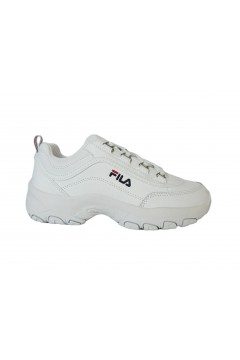 FILA 1010781 Strada Low Kids Sneakers Stringate Bianco  Francesine e Sneakers 1010781.1FG