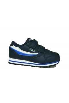 FILA 1011080 Orbit Velcro Infants Sneakers Bambino Blu  Scarpe Bambino 1011080.22V
