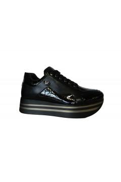 Braccialini Tua U18A Scarpe Donna Sneakers Platofrm Nero Francesine e Sneakers U18ANR