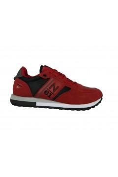 Navigare Retro 2.0 23550 Scarpe Uomo Sneakers Memory Foam Rosso Scarlet Sneakers NAM23550RS