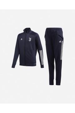 Adidas FR4288 Juve Tk Suit Tuta Completa per Bambini Juventus Acetato Abbigliamento Bambino FR4288