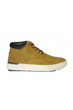 Navigare Bath NBK 24000 Scarpe Uomo Sneakers Mid Stringate Giallo Casual NAM24000GL