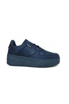 Refresh 72456 Scarpe Donna Sneakers Platform Stringate Blu Francesine e Sneakers R72456BLU