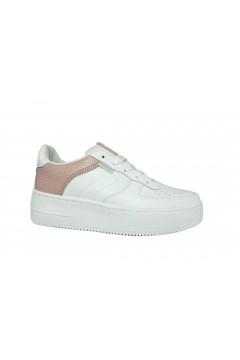 Refresh 72458 Scarpe Donna Sneakers Platform Stringate Bianco Nude Francesine e Sneakers R72458BNUD