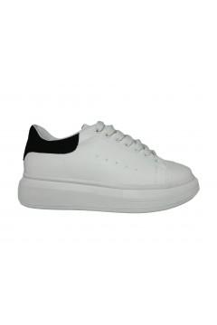 Gold & Gold GA575 Scarpe Donna Sneakers Oversize Stringate Bianco  Francesine e Sneakers GA575BIA