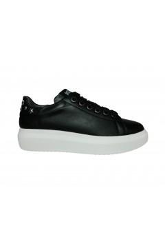 KEYS K 2201 Scarpe Donna Sneakers Stringate Oversize Nero Francesine e Sneakers K2201NR
