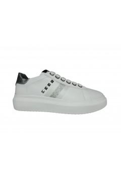 KEYS K 2203 Scarpe Donna Sneakers Stringate Oversize Bianco Francesine e Sneakers K2203BIA