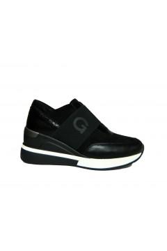 Gold & Gold GA566 Scarpe Donna Sneakers Slip On Nero Francesine e Sneakers GA566NR