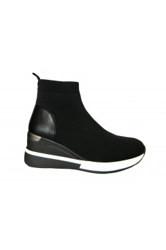 Gold & Gold GA571 Scarpe Donna Sneakers Calza Nero Francesine e Sneakers GA571NR