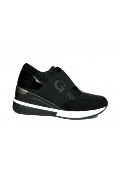 Gold & Gold GA675 Scarpe Donna Sneakers Slip On Nero Francesine e Sneakers GA675NR