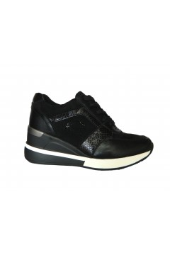 Gold & Gold GA562 Scarpe Donna Sneakers Stringate Nero Francesine e Sneakers GA562NR