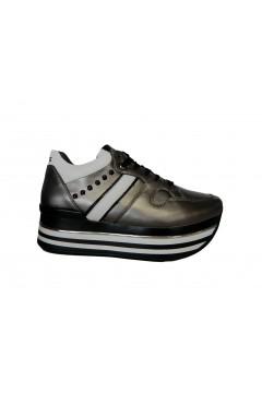 KEYS K 2650 Scarpe Donna Sneakers Stringate Platform Grigio Francesine e Sneakers K2650GR