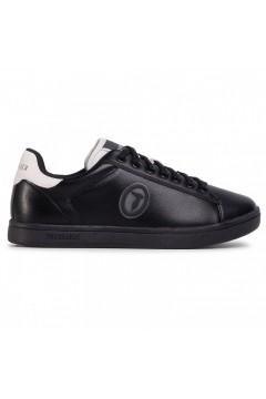 Trussardi Jeans 77A00274 Galium Luxury Sneakers Uomo Stringate Nero Ice Sneakers 77A00274K709