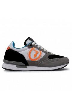 Trussardi Jeans 77A00281 Pentas Sneakers Uomo Stringate Grey White Orange Sneakers 77A00281E733