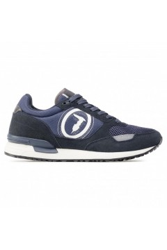 Trussardi Jeans 77A00281 Pentas Sneakers Uomo Stringate Navy Blue Sneakers 77A00281U290