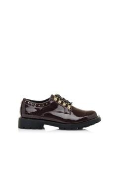 MARIAMARE 62772 Scarpe Donna Stringate Naplack Bordeaux Francesine e Sneakers M62772BR