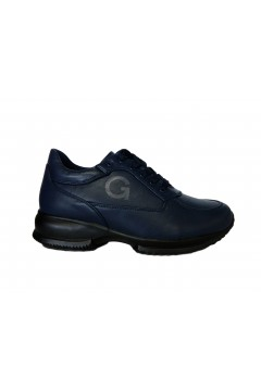 Gold & Gold GA706 Scarpe Donna Stringate Interactive Eco Blu Francesine e Sneakers GA706BLU