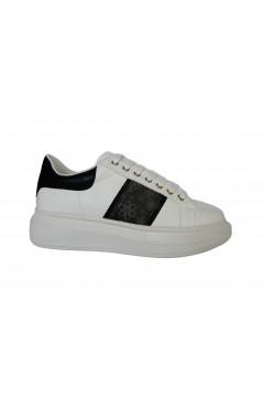Gold & Gold GA579 Scarpe Donna Sneakers Oversize Stringate Bianco Nero  Francesine e Sneakers GA579BNR