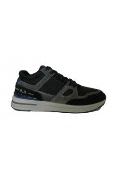 RIFLE Stark 25025 Scarpe Uomo Sneakers Stringate Memory Blue Black Sneakers RFM25025BBK