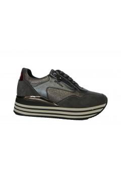 Inblu IN235 Scarpe Donna Sneakers Platform Stringate Memory Foam Grigio Francesine e Sneakers IN235GRI