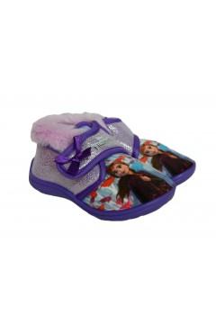 Frozen II FPP7777 Pantofole Bambina a Strappo con Pelliccia Scarpe Bambina FPP7777