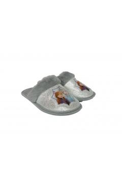 Frozen II FPP9360 Pantofole Bambina con Pelliccia Argento Scarpe Bambina FPP9360