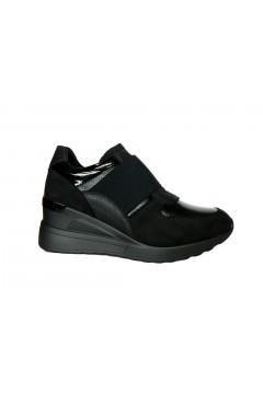Inblu IN240 Scarpe Donna Sneakers Slip On Fascia Elastica Nero Francesine e Sneakers IN240NR