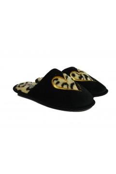 Sweet Years 1485 Ciabatte Pantofole Donna Home Fuxia Black Ciabatte e Infradito SY1485