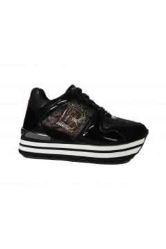 Laura Biagiotti 6403 Scarpe Donna Sneakers Platform Nero  Francesine e Sneakers L6403NR