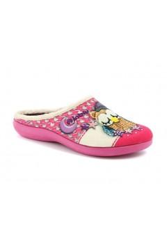 Inblu EC 57 Pantofole Donna a Vaschetta Gufi Fuxia Ciabatte e Infradito EC57FUX