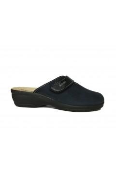 Inblu BJ 114 Pantofole Donna con Plantare in Pelle e Strappo Blu Ciabatte e Infradito BJ114BLU