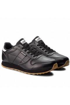 SKECHERS Originals 699 BLK Scarpe Donna Sneakers Memory Foam Nero Francesine e Sneakers 699BLK