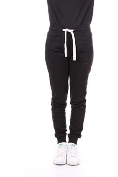 Diadora 102.175174 L. Cuff Pant Core Pantalone Donna in Cotone Garzato Nero Abbigliamento Sportivo 10217517480013