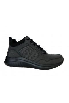 SKECHERS 52780 BBK Scarpe Uomo Sneakers Mid Nero Scarpe Sport 52780BBK