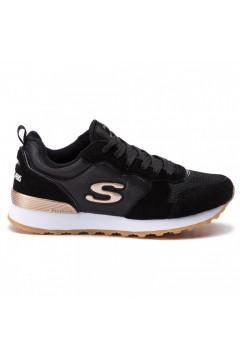 SKECHERS 111 BLK Goldn Gurl Sneakers Stringate Black Gold Francesine e Sneakers 111BLK