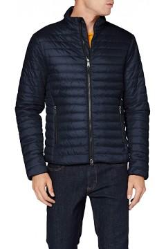 Geox M0421H Wilmer Short Jacket Giubbotto 100 gr Uomo Blu  Giacche M0421HT2606F4386