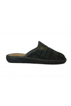 Tiglio Memory 867 MF Pantofole Uomo in Panno Grigio Ciabatte & Sandali T867MFGR