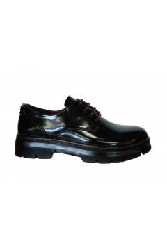 XTI 44403 Scarpe Donna Stringate Abrasivato Nero Francesine e Sneakers X44403NR