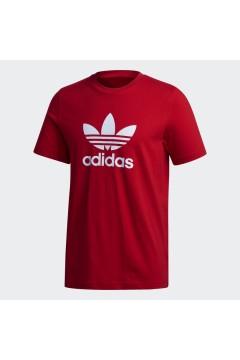 Adidas GD9912 T-Shirt Uomo Trefoil Rosso T-Shirts GD9912
