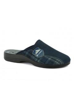 Inblu PO 66 Pantofole Uomo in Panno Blu Ciabatte & Sandali PO66BLU