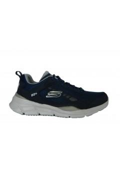 SKECHERS 232024 NVGY Restrike Scarpe Uomo Sneakers Memory Foam Blu Scarpe Sport 232024NVGY