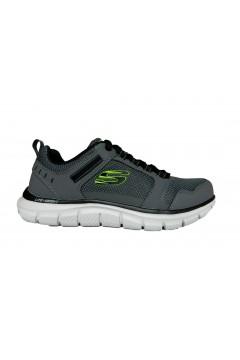 SKECHERS 232001 CCBK Nkockhill Scarpe Uomo Sneakers Memory Foam Grigio Scarpe Sport 232001CCBK