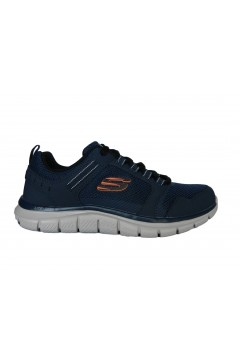 SKECHERS 232001 NVOR Nkockhill Scarpe Uomo Sneakers Memory Foam Blu Scarpe Sport 232001NVOR