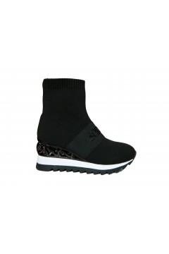 Solo SOPRANI MI13 Scarpe Donna Sneakers Stivaletti con Zeppa Nero Francesine e Sneakers MI13NR
