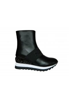 Solo SOPRANI MI13D Scarpe Donna Sneakers Stivaletti con Zeppa Nero Francesine e Sneakers MI13DNR