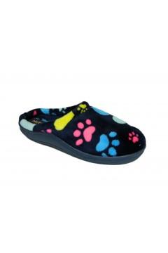 NATURAL LARA Pantofole Ciabatte Donna Profumate Blu Ciabatte e Infradito LARABLU
