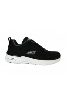 SKECHERS 12947 BKW Scarpe Donna Sneakers Air Memory Foam Nero Francesine e Sneakers 12947BKW